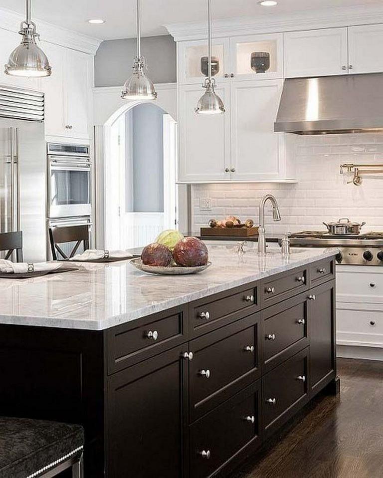 35 elegant white kitchen backsplash design ideas  page 8