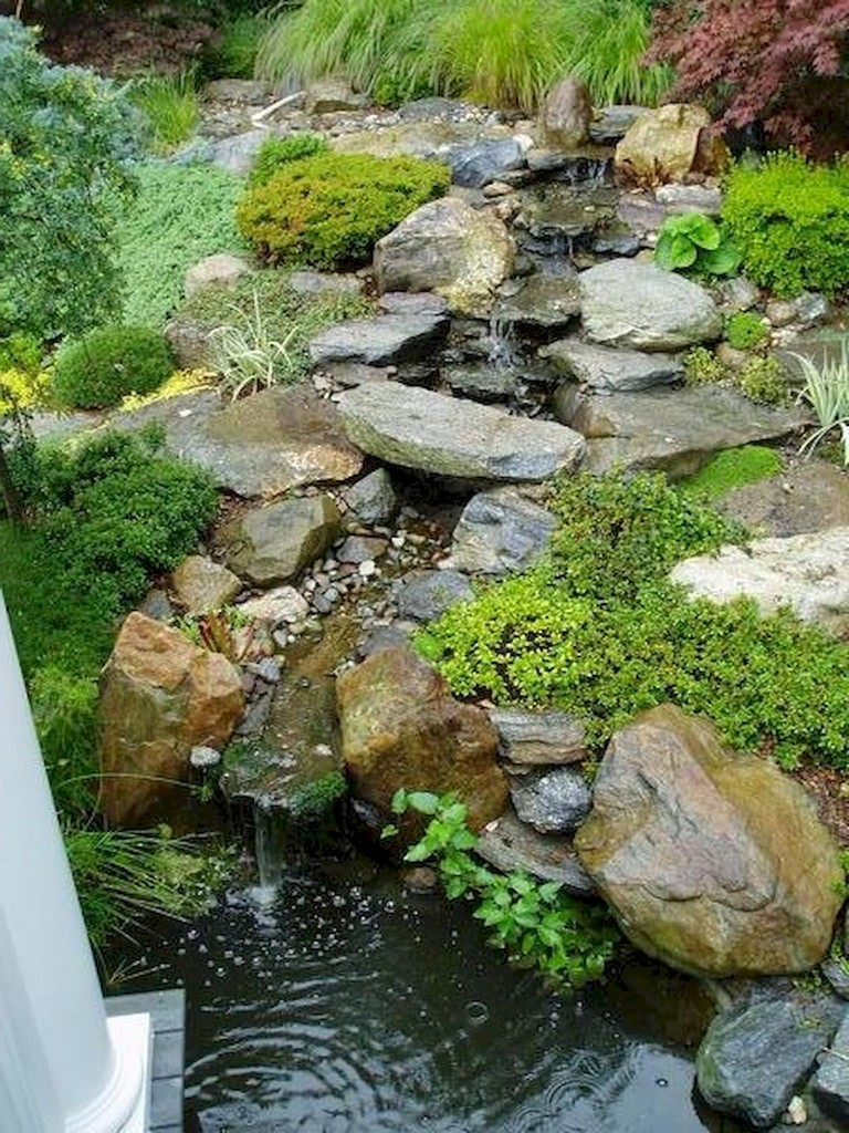 65+ Lovely Backyard Waterfall And Pond Landscaping Ideas ...