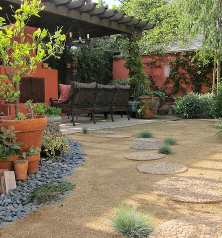 90 Incredible Modern Farmhouse Exterior Design Ideas 12: 55 Beautiful Eclectic Backyard Ideas