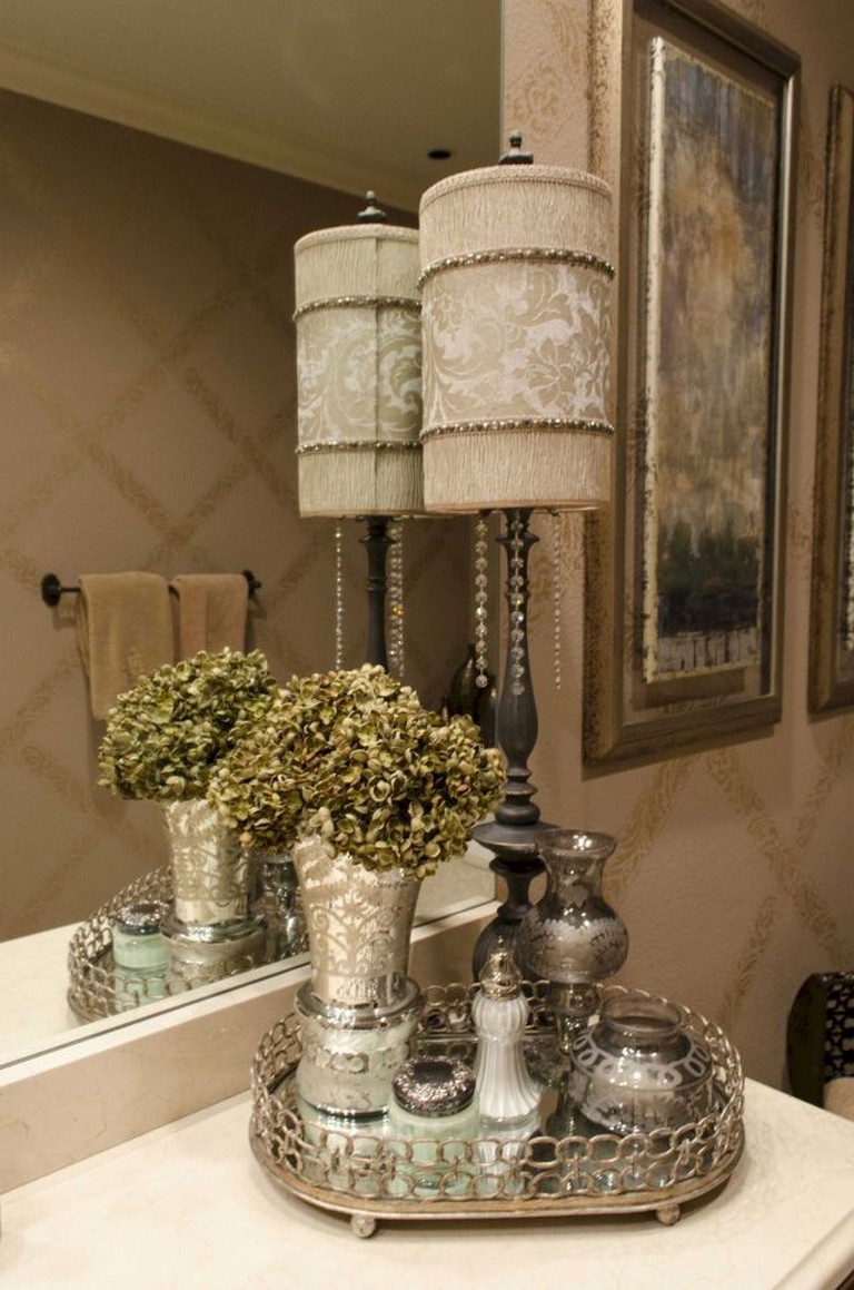 55 Good Inspired Vintage Powder Room