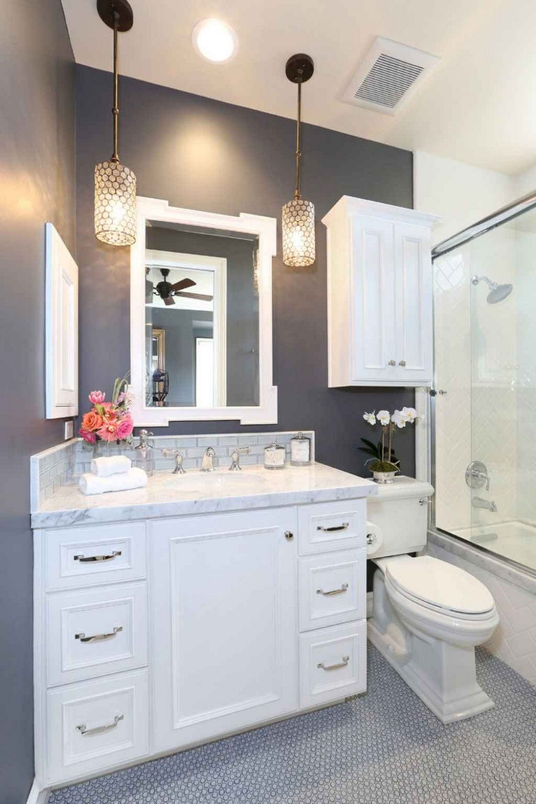 50 incredible small bathroom remodel ideas. Black Bedroom Furniture Sets. Home Design Ideas