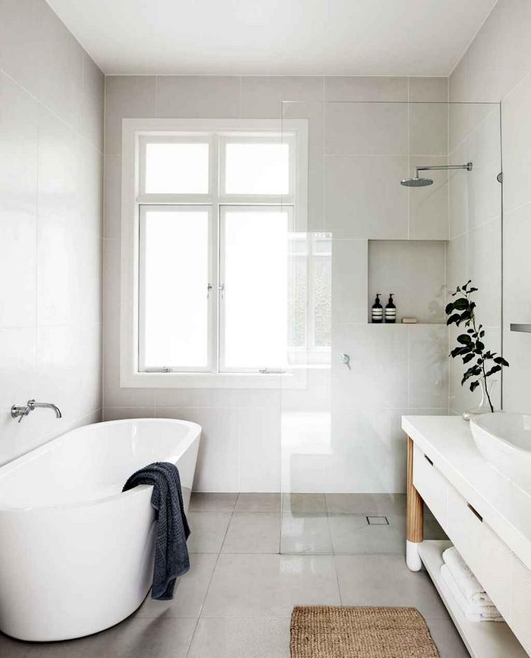 90 Incredible Modern Farmhouse Exterior Design Ideas 12: 50+ Incredible Small Bathroom Remodel Ideas