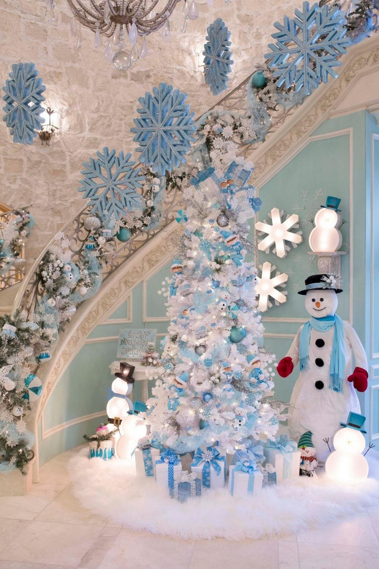 60 Gorgeous And Elegant White Christmas Decoration Ideas Page 57 Of 60