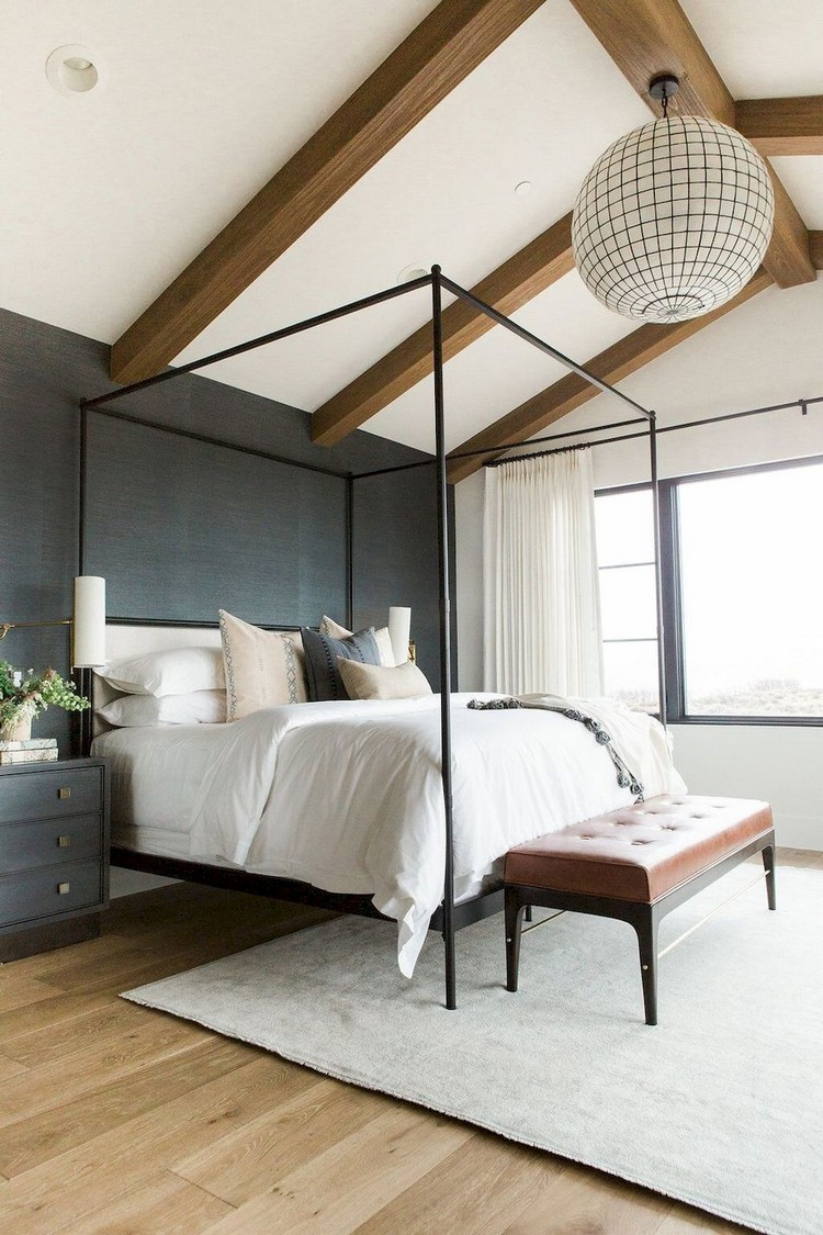 50 Exciting Lake House Bedroom Decorating Ideas