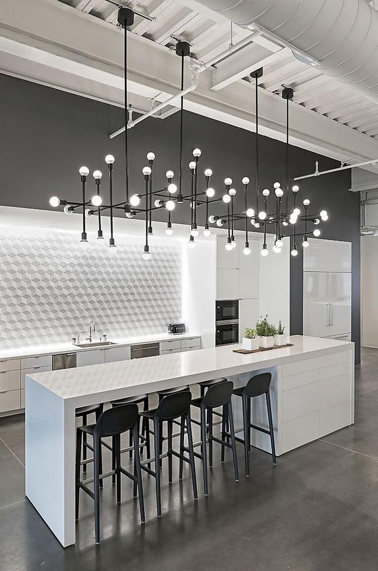 35 elegant white kitchen backsplash design ideas  page