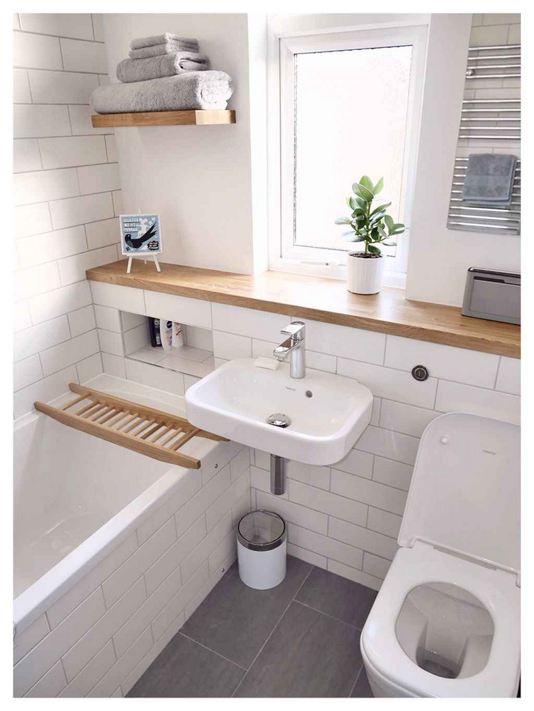 50+ Incredible Small Bathroom Remodel Ideas - Page 21 of 53