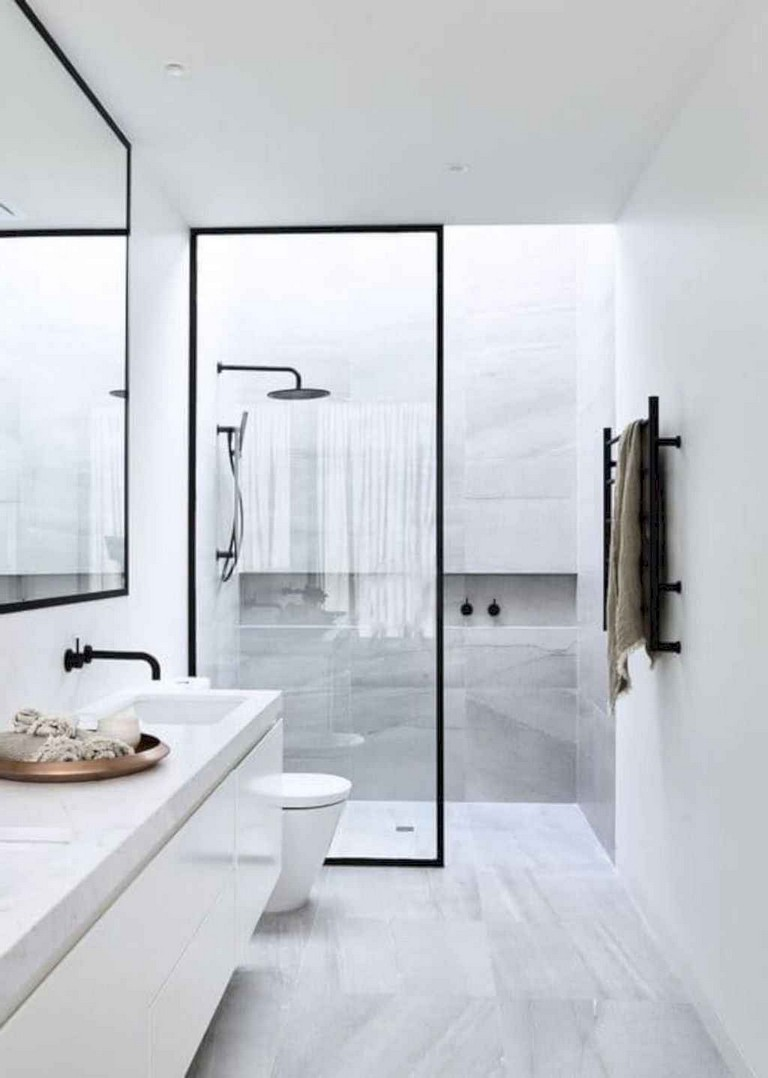 50+ Incredible Small Bathroom Remodel Ideas on Modern Small Bathroom Remodel  id=39588